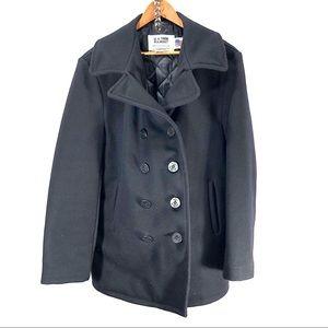 Schott NYC wool pea coat size 42